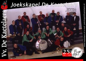 CD joekskapel de Kaetelaers 'wat wilse veur 'n tientje'